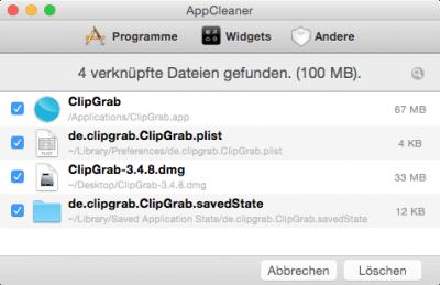Software vom Mac sauber entfernen