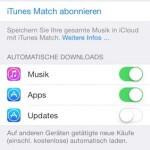 Automatische Updates bei iOS 7 deaktivieren