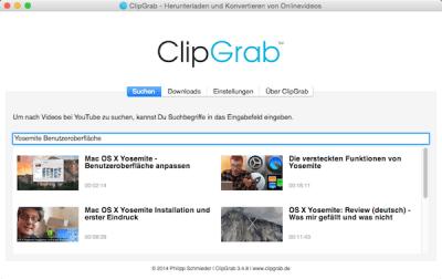 Nach Videos zum Download auf Mac suchen