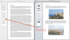 Wie man PDF Dateien miteinander kombiniert.