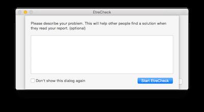 Probelm mit dem Mac definieren