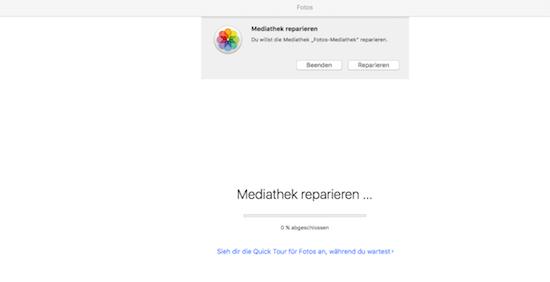 Fotos für Mac geht nicht mehr - Wie man die Meiathek mit allen Bildern wieder in Ordnung bekommt