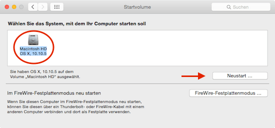 Mac schneller starten unter Mac OS X Yosemite