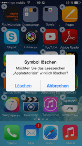 Apps von seinem iPhone oder iPad löschen