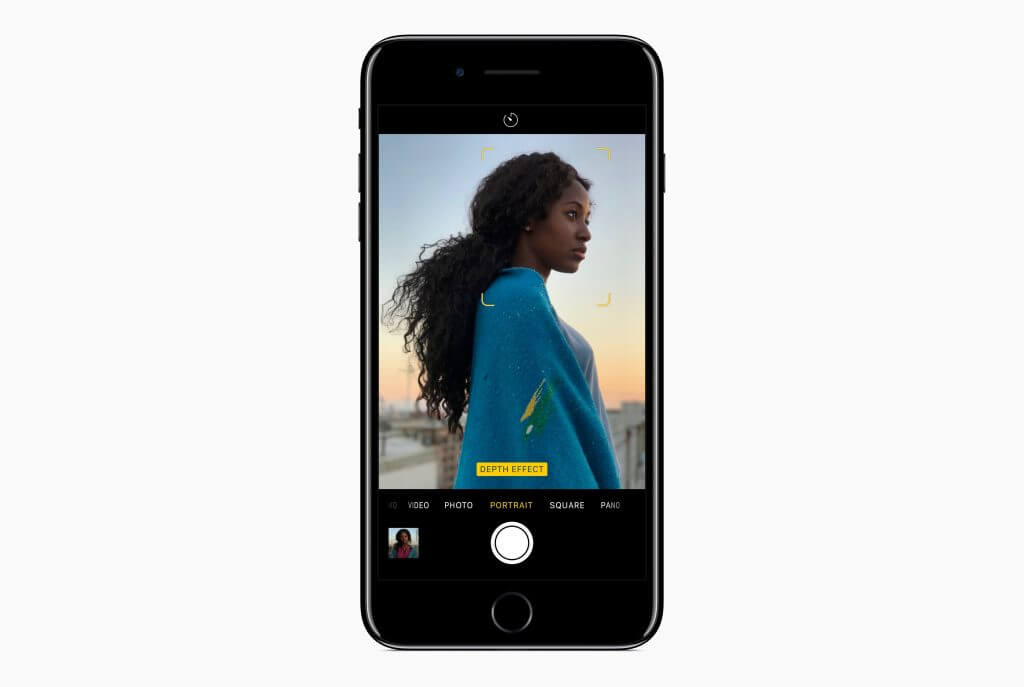 Porträt-Modus mit dem iPhone, Bild: Apple