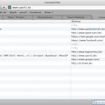 Lesezeichenverwaltung in Safari von Apple