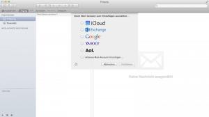 E-Mail Konto in Mail von Apple einrichten
