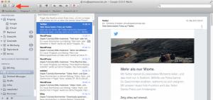 E-Mails am Mac schreiben