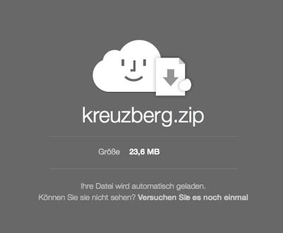 Mail Datei Anhang aus iCloud downloaden
