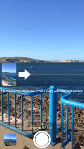 So erstellt man mit dem iPhone ein Panorama Bild.