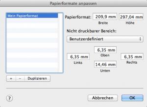 In Pages von Apple können Sie ein eigenes Format für Ihre Dokumente erstellen.