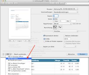 Formularfelder am Mac ausfüllen