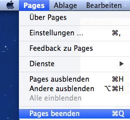 So schließt man am Mac ein Programm