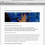 Reader Funktion im Safari-Browser