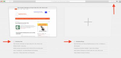 Safari Tabs per iCloud auf iPhone oder iPad schließen