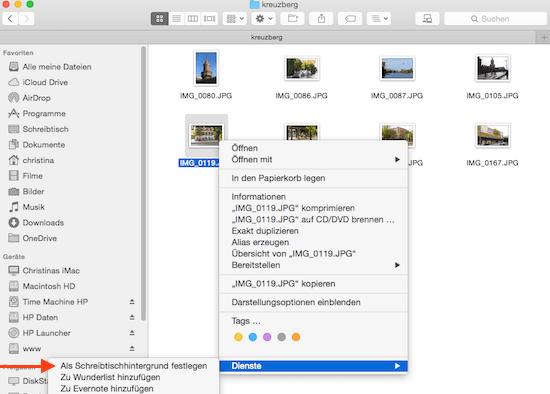 Wie Man Ein Hintergrundbild Für Den Mac Schreibtisch Erstellt