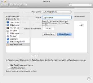 """Den Befehl """"Sichern unter"""" am Mac dauerhaft anzeigen lassen"""