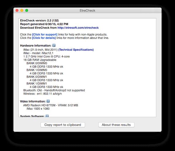 Systemprotokoll für Mac oder Macbook erstellen