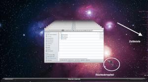 Datei mit Time Machine von Apple wiederherstellen