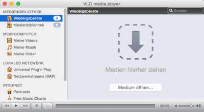 Der VLC Player ist einfach zu bedienen