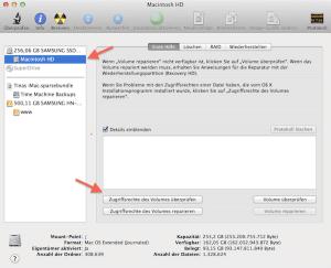 Zugriffsrechte am Mac überprüfen
