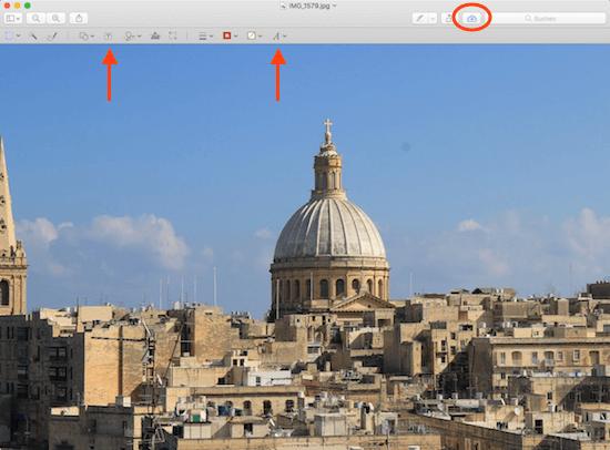 Bilder mit text beschriften am Mac mit der Vorschau App von Apple